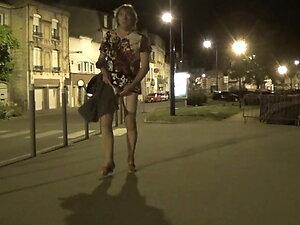 transgender travesti dildo sounding lingerie outdoor 61