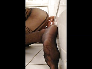 sissy play with sextoys