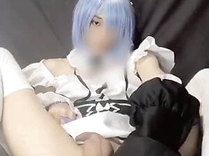 Japanese crossdresser Cosplayer