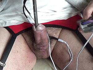transgender travesti sounding urethral  e stim lingerie  52a
