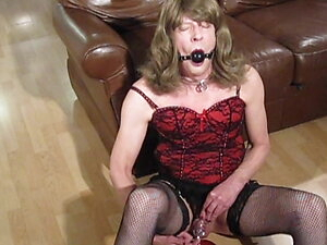 Caged Cum For Mistress Kate