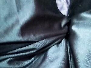 sissy slave boy in tights.. tiny cock