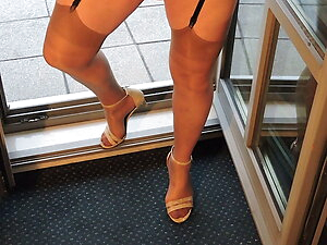 Stockings und Heels