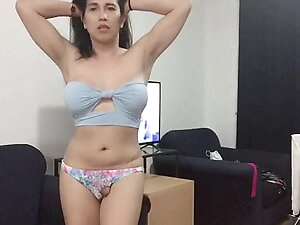 asian trans anairb doing strippers sexy dance naked 2