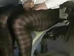 Trap fun in new pantyhose and cuming in fleshlight