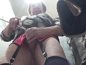 transgender travesti sounding urethral lingerie outdoor 60