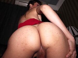 Petite amateur ladyboy Prem POV blowjob and bareback anal