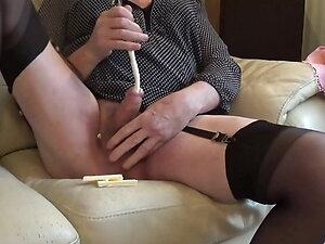 transgender travesti sounding urethral lingerie 26b