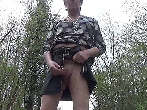 transgender travesti sounding urethral  outdoor lingerie 53a
