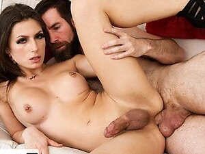 GenderX - Husband's Affair With The Sexy Trans Babysitter