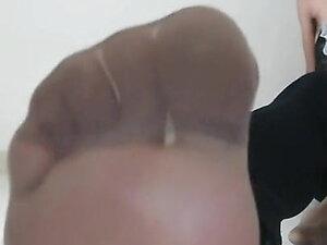 Feet of sissy leana