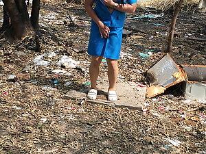 Thai ladyboy teacher Girl scout solo EP2