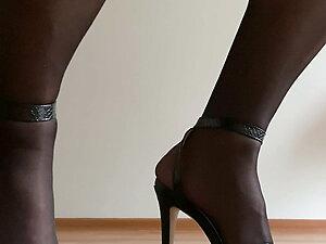 stockings high heels crossdresser