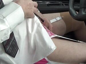 transgender travesti sounding urethral lingerie outdoor 51